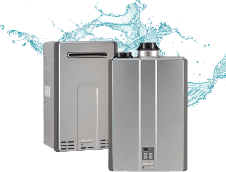 tankless, gas and electric hot water heaters